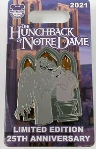 Disney The Hunchback Of Notre Dame 25th Anniversary Gargoyle LE Pin