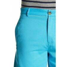 TailorByrd Men's Solid Twill Shorts Aqua Blue size 38