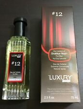 Luxury Men #12 Men Cologne Compared To By Drakkar Noir 2.5 Oz Spray NEW