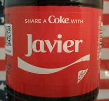 Share A Coke With Javier 2018 Limited Edition Personalized Coca Cola Bottle