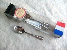 French Acero Inoxidable Inox 18-10 6 x cucharillas/Cucharas De Café Vajilla Cubiertos. nuevo