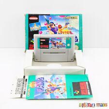 Super Pang - Boxed & Manual - RARE - FULLY TESTED - Super Nintendo SNES Game PAL