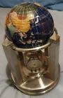 Gemstone handmade rotation globe thermometer, 2 clocks, Thermometer, Hydrometer