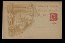 Portugal   Azores  postal  card  unused               KL0504
