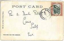 POSTAL HISTORY -  BAHAMAS : POSTCARD to ENGLAND 1907