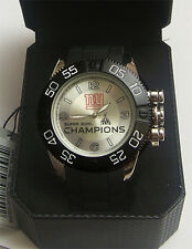 New York Giants XLVI Super Bowl Watch Game Time LE Superbowl Wristwatch
