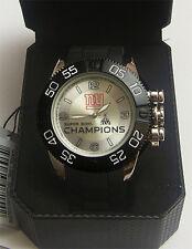New York Giants XLVI Super Bowl Watch Limited Edition Superbowl Wristwatch