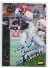 1995 Signature Rookies Autograph David Dunn/7750 Fresno St.