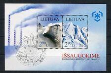 Lituania/Lithuania 2009 Foglietto Protezione zone polari e ghiaccia MNH
