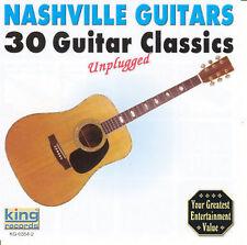 "NASHVILLE GUITARS, CD ""30 GUITAR CLASSICS"" NEW SEALED"