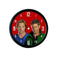 Supernatural jared padalecki jensen ackles horloge murale fan art cadeau photo