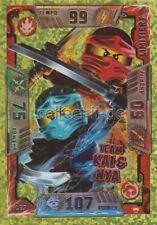 LEGO Ninjago Sammelkarten SERIE 2 - LE9 - Team Kai & Nya - Limitierte Auflage