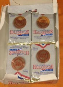 29 Packs Unopened Impel US Olympic Cards Hall Of Fame Series 1991