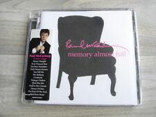 rock CD pop PAUL McCARTNEY Memory Almost Full * SUPER JEWEL CASE * + PHOTO