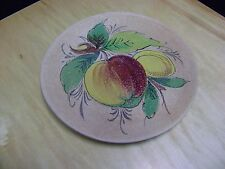 TERRACOTTA WALL PLATE POTTERY TRAY / PLATE FROM ITALY