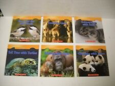 Scholastic Animal Math Non-Fiction 6 Paperback Book Set Brand New Rare Very Cute