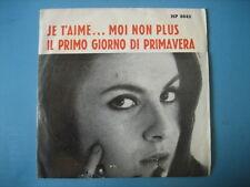 """COMBOS """"Je t'aime... Moi non plus"""" BIRKIN GAINSBOURG - rare 45 COVER"""