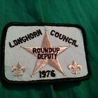 1976 Longhorn Council Roundup Deputy patch- Free Shipping