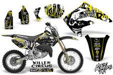 Honda CR85R CR 85 R Dirt Bike Graphic Sticker Kit Decal Wrap MX 03-07 CIRCUS YLW