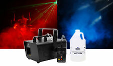 Chauvet DJ Hurricane Haze 1D DMX Water-Based Haze Machine Hazer w/ Remote+Fluid