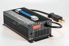 NEW 48V 15 Amp Golf Cart Battery Charger 48 Volt Club Car Forklift EzGo Yamaha