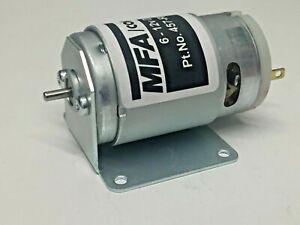 MFA 385 BRUSHED MOTOR 11646 rpm on 12v Voltage range 6-15v INCLUDES BRACKET
