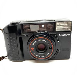 Canon Sure Shot AF35m II Autoboy 2 35mm  Camera w F2.8 Prime Lens.Works
