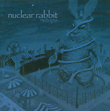 Nuclear Rabbit - Mutopia CD SEALED NEW NorCal alternative metal