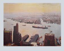 Jack Lorimer Gray Kunstdruck Poster Bild Lichtdruck Ausblick vom Hafen 76x102 cm