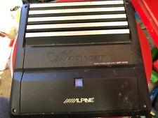 Alpine V-Power Mrp-M450 mono Power Amplifier Stereo Car Audio Amp