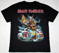 SCANDINAVIAN ASSAULT - Iron Maiden Rock Metal Black T-Shirt Cotton Regular S-3XL