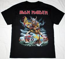 SCANDINAVIAN ASSAULT - Iron Maiden Rock Metal Black T-Shirt Cotton Regular S-3XL