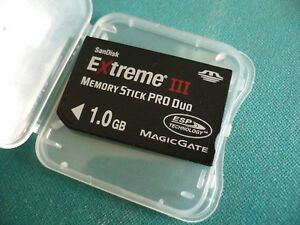 1GB Sandisk Memory Stick PRO DUO TF 1 GB for PSP SONY G1 G3 H50 S40 T2 T25 T500