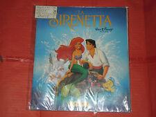 ALBUM DI FIGURINE COMPLETO LA SIRENETTA 1980 PANINI DISNEY NO LAMPO EDIS FLASH