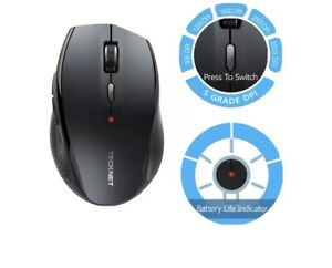 TeckNet Wireless Bluetooth Mouse 3000 DPI Cordless Mice for PC Laptop Tablet UK