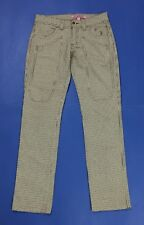 Jeckerson pantalone donna usato w27 tg 41 jeans gamba dritta slim boyfriend T623