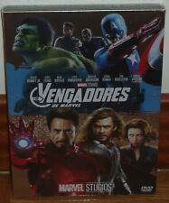 LOS VENGADORES SLIPCOVER FUNDA DE CARTON DVD NUEVO ACCION MARVEL (SIN ABRIR) R2