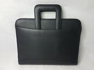 Brief case, Tablet bag, office, notes, card holder, work bag, A4 paper, black