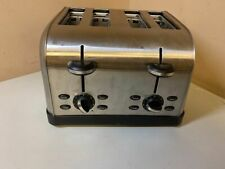 Used Oster 4-Slice Toaster, Brushed Metal (Tssttrwf4S-Shp)