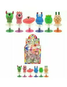 Henbrandt Monster Jump-Up 4 to 5cm, 6 Assorted Colours - 12 Count