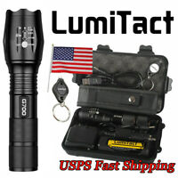 Super-bright 50000lm LED Flashlight Lumitact G700 Tactical Torch USB Zoomable