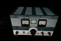 EPSCO Power Supply, Model 78.257 20 Amps, Input 115 Volts, DC Output 6 Volts
