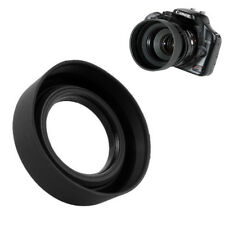 3 in 1 Collapsible Rubber Foldable Hood 52mm DSIR Lens For Universal Canon Nikon