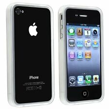 TPU Bumper Case for iPhone 4 / 4S - Clear