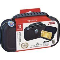Nintendo Switch Lite Game Travel Deluxe Travel Case Legend of Zelda w/Game Case