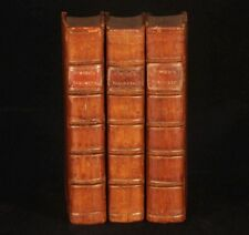 1771 3vols BARONETAGE of England Kimber Johnson plates