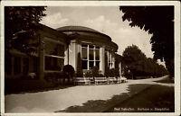 Bad Salzuflen Nordrhein-Westfalen AK 1930 Kurhaus Hauptallee Straße Gebäude Kur
