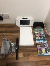 Nintendo Wii U + Controller and 2 Games