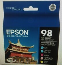 5-PACK Epson GENUINE 98 Color Ink  for the ARTISAN 725 730