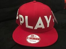 PLAY CLOTHS PLAY 77 SNAP BACK HAT RED SCARLET NEW supreme